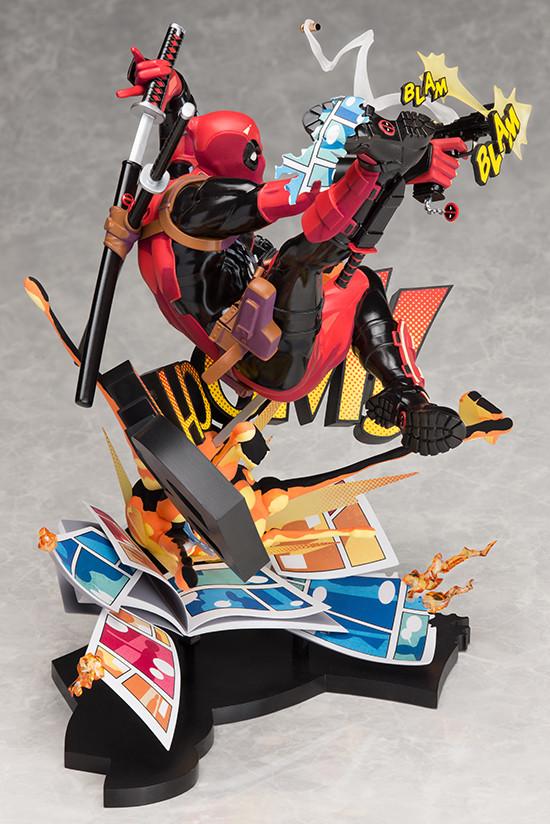PVC Figure New In Box Marvel Superhero Deadpool Breaking The Fourth Wall Ver