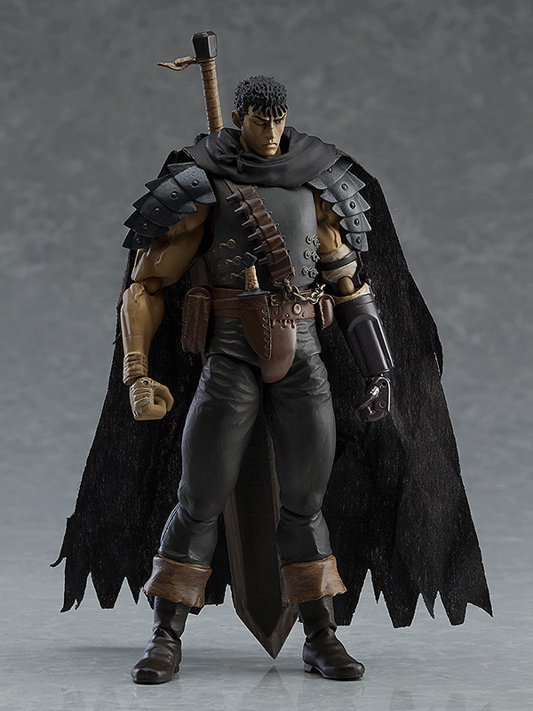 Repaint Edition Figure IN Box Anime Figma 359 Berserk Guts Black Swordsman Ver