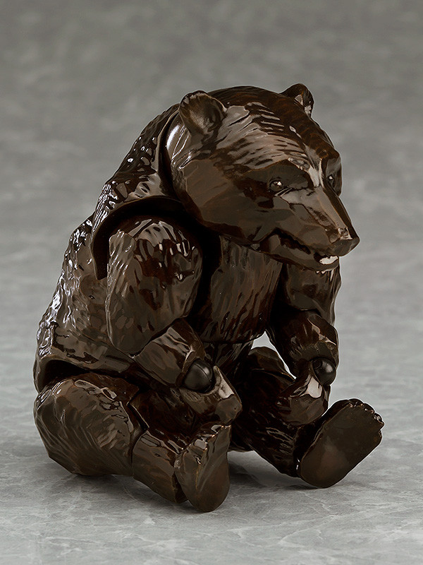 figma brown bear action figure 100mm MAX FACTORY from JAPAN 2018