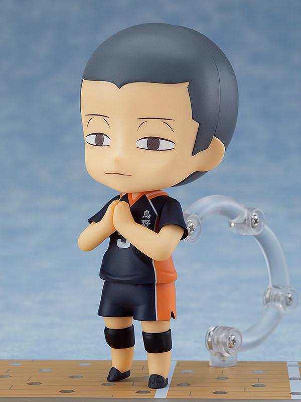 945b Haikyu!! Good Smile Co Ryunosuke Tanaka /& Extra Parts Nendoroid Set No