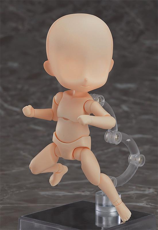 Q version Boy PVC Figure Toy New No Box 10cm Nendoroid Doll Archetype