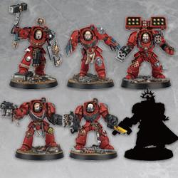 Heroes Booster Space Marines Serie 1