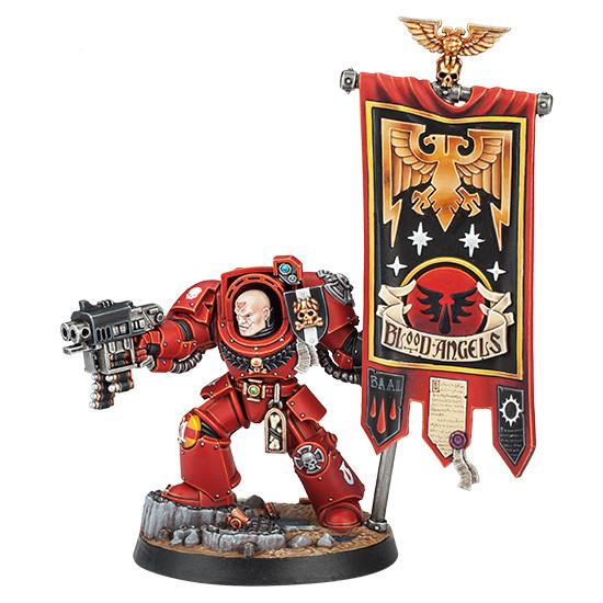 Max Factory Warhammer 40,000 Space Marine Heroes Serie 2 Basic Lack-Set