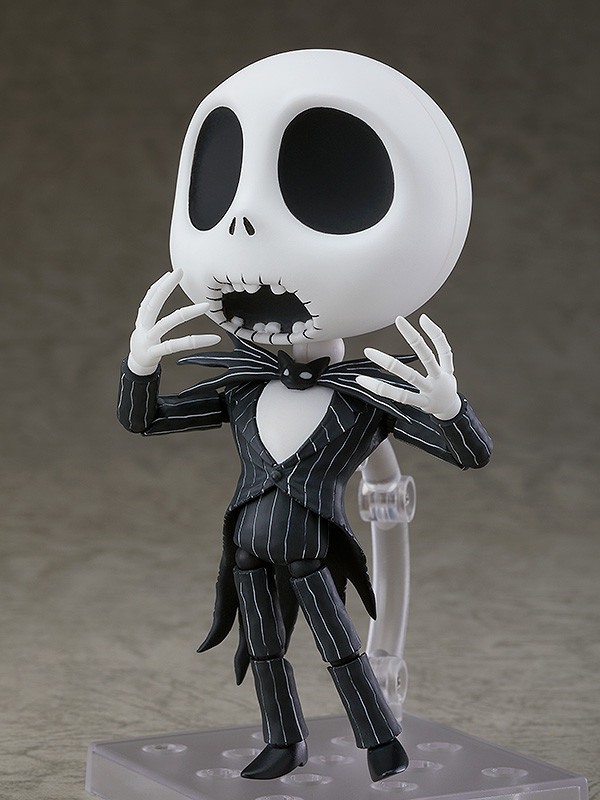 Nendoroid 1011 Jack Skellington The Nightmare Before Christmas Action Figure Toy