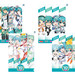 Hatsune Miku GT Project 10th Anniversary Commemorative Stamp Set
