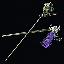 Fate/Grand Order Kanzashi Japanese Hair Pin (Saber/Miyamoto Musashi  /  Assassin/Shuten-Douji)