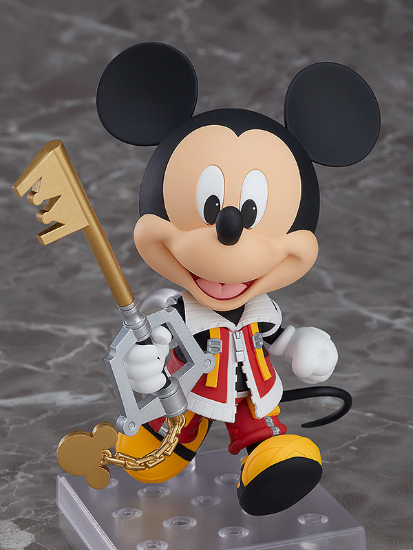 Nendoroid Kingdom Hearts II King Mickey Good Smile Company Japan New***