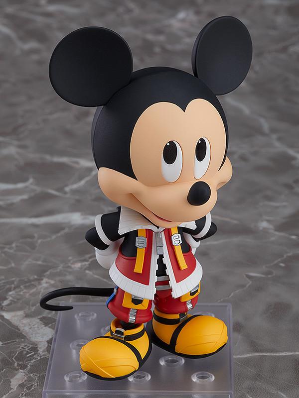 In STOCK Nendoroid Kingdom Hearts II King Mickey 1075 Action Figure