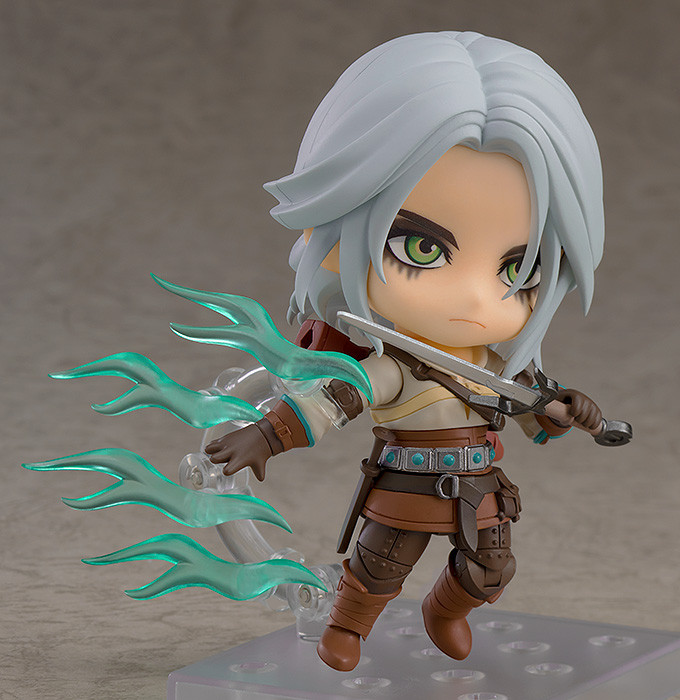 Nendoroid The Witcher 3 Wild Hun Geralt of Rivia PVC Figure Toy 10cm Collection