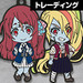 Zombie Land Saga Nendoroid Plus Collectible Rubber Keychains