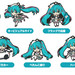 Racing Miku 2019 Ver. Nendoroid Plus Collectible Keychains