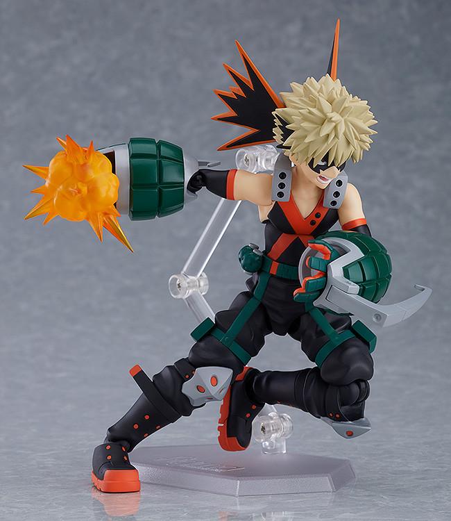 Figma 443 My Hero Academia Katsuki Bakugo 14cm PVC Action Figure New In Box