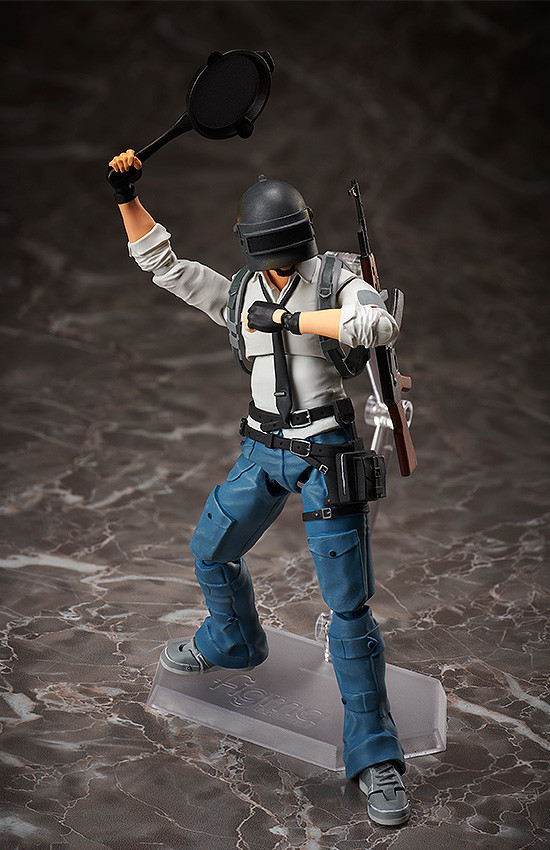 New figma PLAYERUNKNOWN/'S BATTLEGROUNDS The Lone Survivor figure from Japan