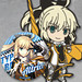 GOODSMILE RACING & TYPE-MOON RACING Nendoroid Plus Collectible Rubber Keychains & Badges