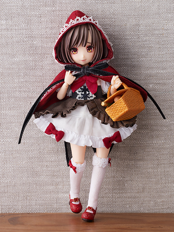 Little Red Riding Hood Cloth Doll Set