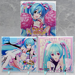 Dioramansion 150: Racing Miku Pit 2019 Optional Panel (Cheer Ver. / Rd.6 AUTOPOLIS / Rd.7 SUGO)