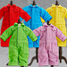 Nendoroid Doll: Outfit Set (Colorful Coveralls - Red/Blue/Yellow/Lime Green/Purple)