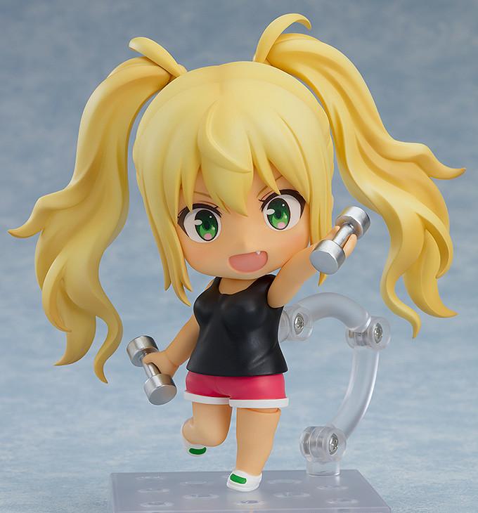 Hibiki Sakura #1278 Good Smile Nendoroid How Heavy Are The Dumbbells You Lift?