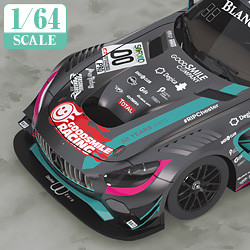 1/64 Scale Good Smile Hatsune Miku AMG 2017 SPA24H Finals Ver.