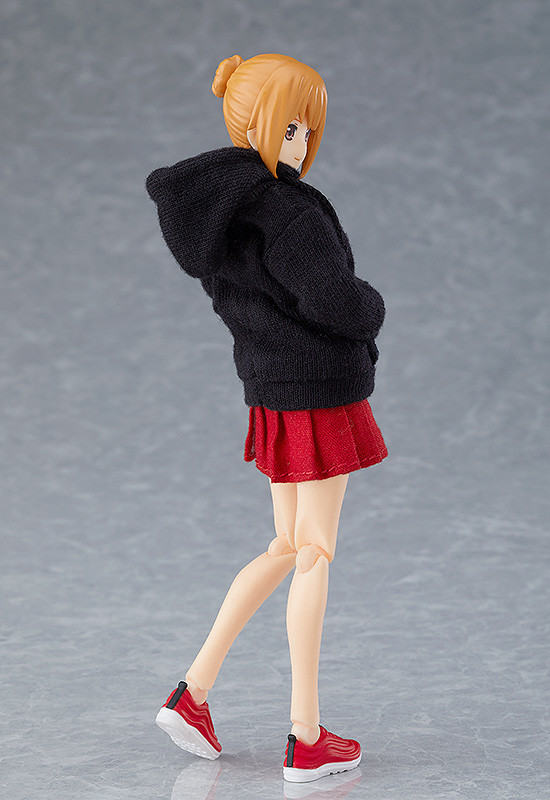 Max Factory figma Styles: Female Body Emily PRE-ORDER with Hoodie Outfit