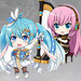 Hatsune Miku Nendoroid Plus Collectible Keychains: Band together 01