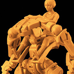 MODEROID 1/35 Multi-Purpose EXOFRAME (Yellow)