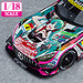 1/18th Scale Good Smile Hatsune Miku AMG 2020 SUPER GT Okayama Test Ver.