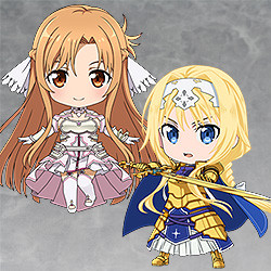 Sword Art Online: Alicization Nendoroid Plus Collectible Keychains 2