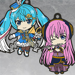 Hatsune Miku Nendoroid Plus Collectible Keychains: Band together 02
