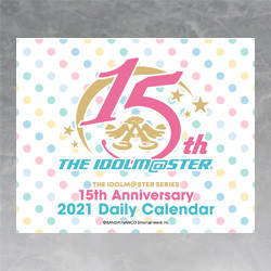 THE IDOLM@STER 15th Anniversary 2021 Daily Calendar (Deluxe Edition with Storage Tin/Standard Edition)