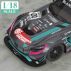1/18th Scale Good Smile Hatsune Miku AMG 2017 SPA24H Finals Ver.