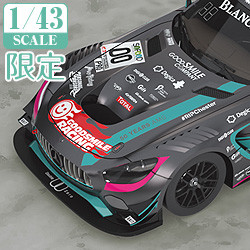 1/43rd Scale Good Smile Hatsune Miku AMG 2017 SPA24H Finals Ver.