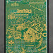 Cyberpunk 2077 Night City Map Circuit Board iPhone 11 Case by PCB ART moeco