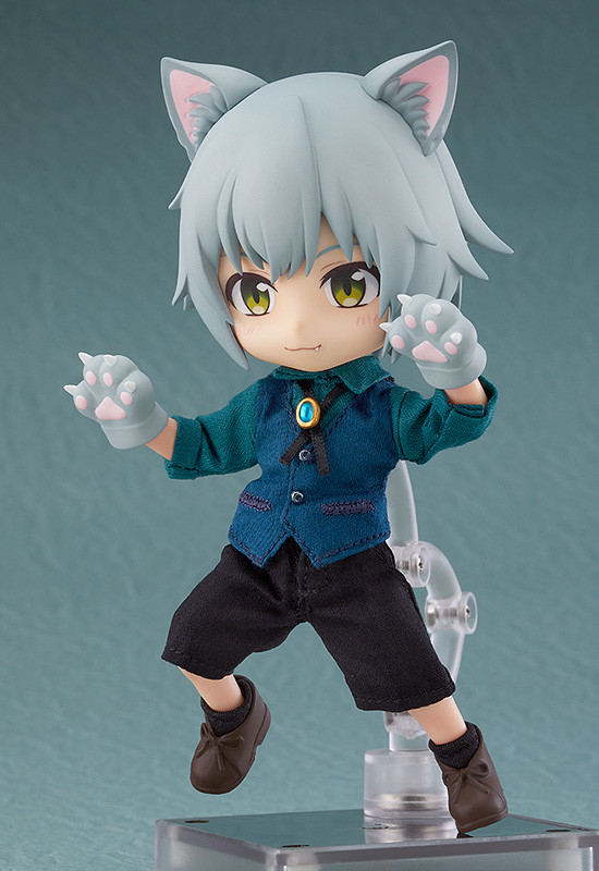 Wolf Ash Nendoroid Doll Action Figure Little Red Riding Hood