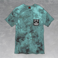 Stranger Things T-Shirt: Tie-Dye Upside Down/Christmas Lights Design