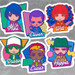 Stranger Things Nendoroid Plus Sticker Set