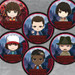 Stranger Things Nendoroid Plus Pinback Button: Night Woods Design Ver.