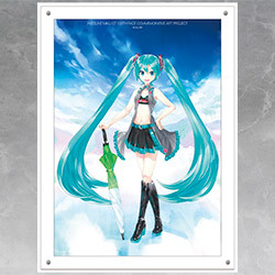 Hatsune Miku GT Project 100th Race Commemorative Art Project Art Omnibus High-Res Acrylic Artwork