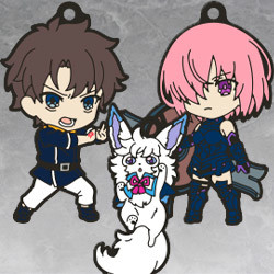 Fate/Grand Order - Absolute Demonic Front: Babylonia Nendoroid Plus Collectible Rubber Keychains 01