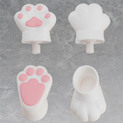 Nendoroid Doll: Animal Hand Parts Set (White)