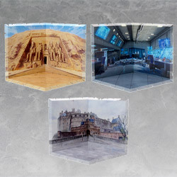 Dioramansion 150: Abu Simbel Temple / Laboratory / Edinburgh Castle