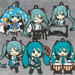Hatsune Miku Nendoroid Plus Collectible Keychains: Band together 03