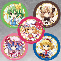 Touhou Lost Word Capsule SD Badge Collection Vol 2