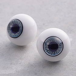 Harmonia bloom Original Glass Eye Series: Aquarius
